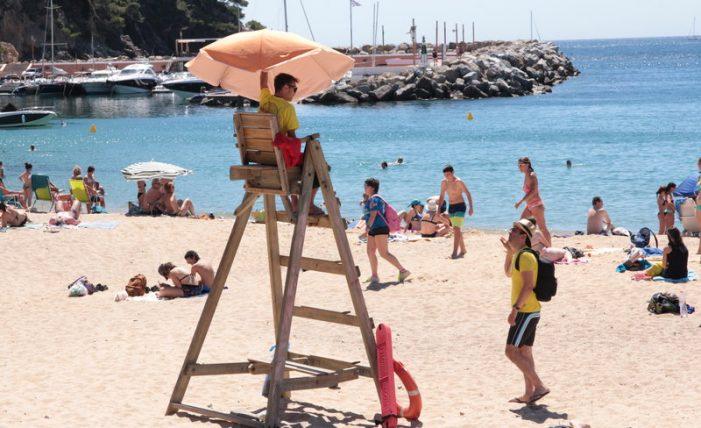 Socorristes 'in extremis' a Sant Feliu i Palafrugell