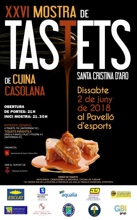 XXVI Mostra de Tastets de Cuina Casolana