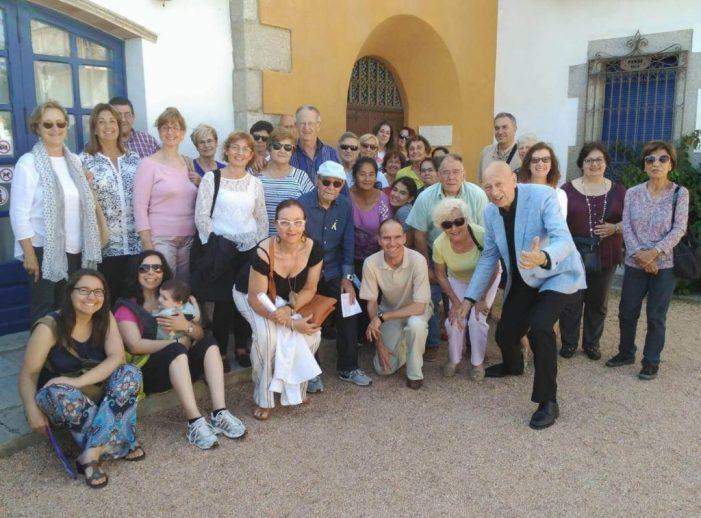 Els socis/es del Banc del Temps visiten el Museu de la Màgia de Santa Cristina