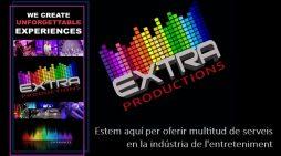 Benvinguts a Extra Produccions. Tot en esdeveniments