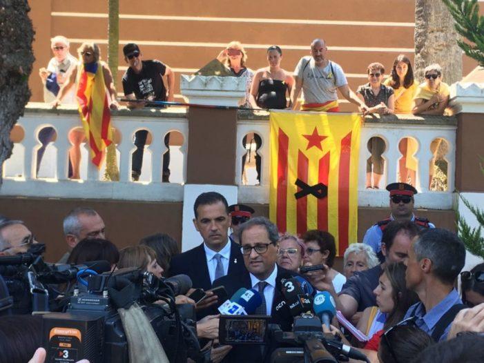 El MH President de la Generalitat, Quim Torra, va visitar Sant Feliu