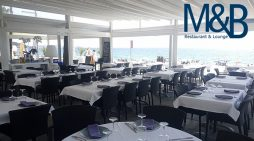 Aquest estiu, Restaurant Lounge M&B. A primera línia de mar.