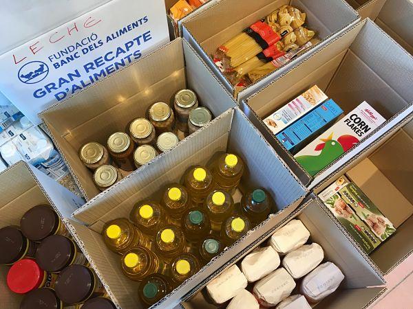 Castell-Platja d'Aro recull més de 6.198 quilos d'aliments per ajudar a les famílies vulnerables i amb menys recursos del municipi