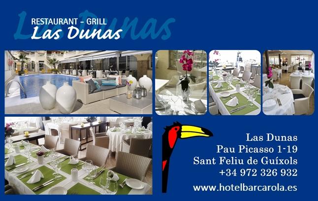 """Coneixes el Restaurant Grill """"Les Dunes""""? …"""
