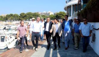 Sant Feliu vol estendre el passeig Marítim fins al port pagant una part de l'obra