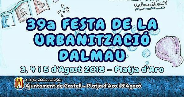 La Urbanització Dalmau de Platja d'Aro està de Festa Major durant tot el cap de setmana