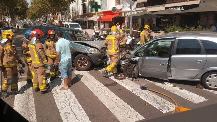 Quatre ferits per un accident de trànsit a s'Agaró