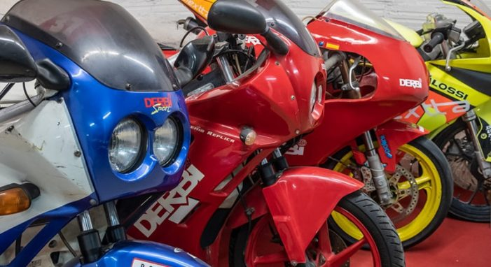 50 motos per a la història de Derbi a Platja d'Aro