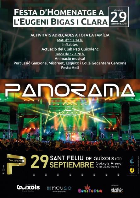 El somni d'Eugeni Bigas es veurà realitzat amb l'Orquestra Panorama a Sant Feliu de Guíxols
