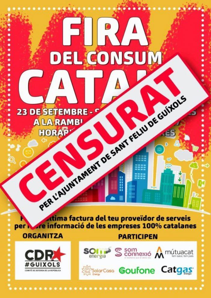 El CDR denuncia que l'Ajuntament els veta la participació en una fira