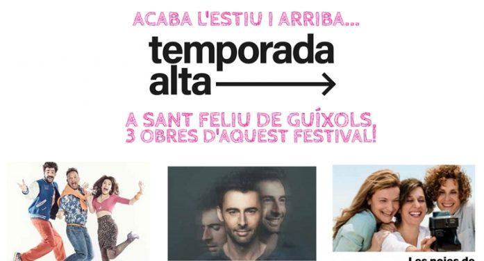 TEMPORADA ALTA 2018 a Sant Feliu de Guíxols