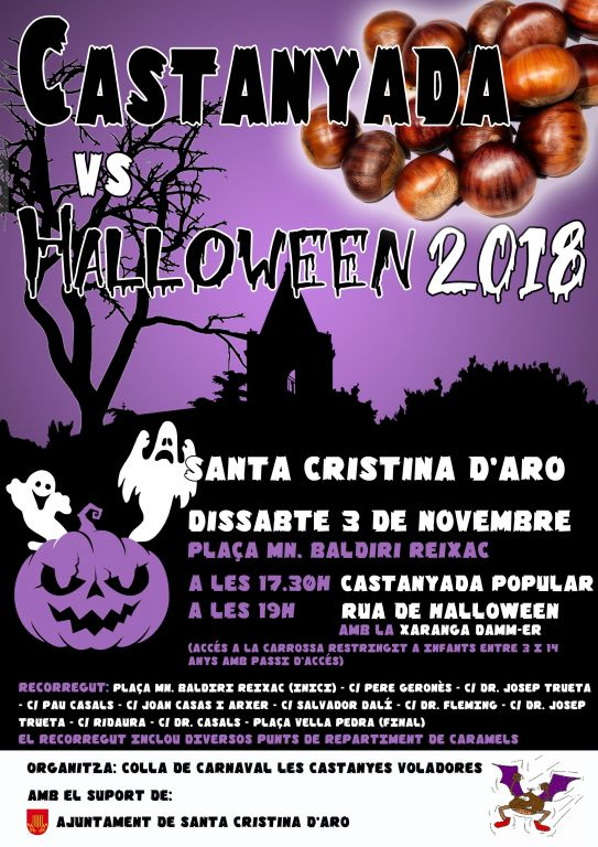 Castanyada vs Halloween 2018