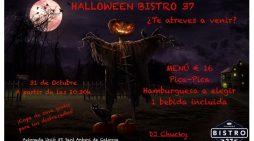 La nit de Halloween 2018 a Bistro 37 de Calonge