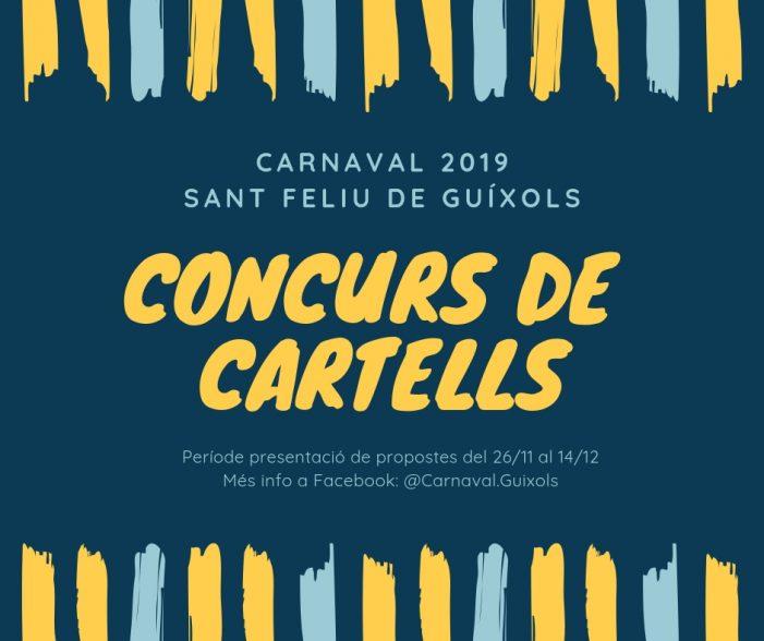 Concurs cartells Carnaval 2019