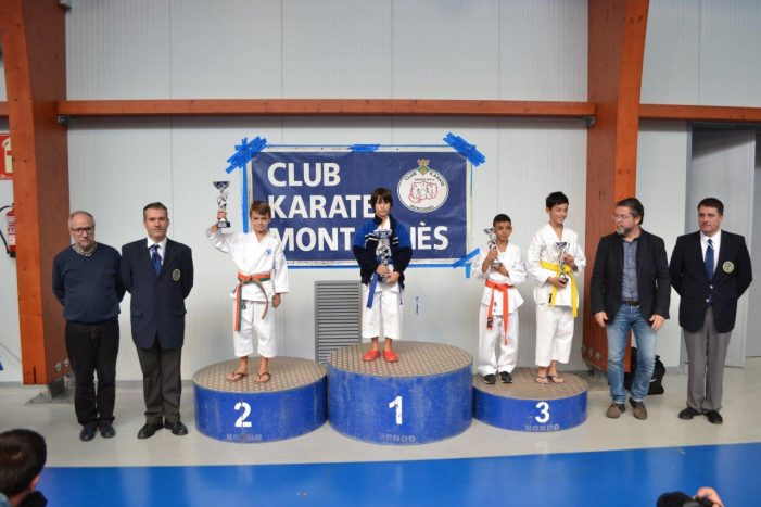 L'escola de Karate DOJO Sant Feliu participa amb èxit al Campionat de Karate a Montornès del Vallès