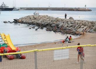 Les controvertides obres en un espigó de Sant Feliu arrenquen la setmana vinent