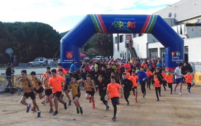 288 persones participen en la III marxa solidària Mas Maiensa de Santa Cristina