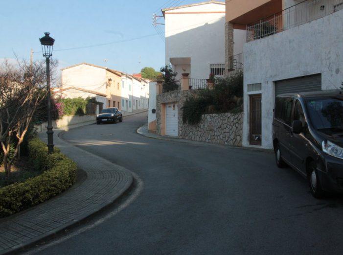 Reordenació viària al barri de la Pineda de Can Tell de Sant Feliu