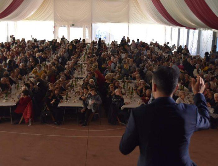Festa de la Gent Gran de Sant Feliu amb 900 assistents