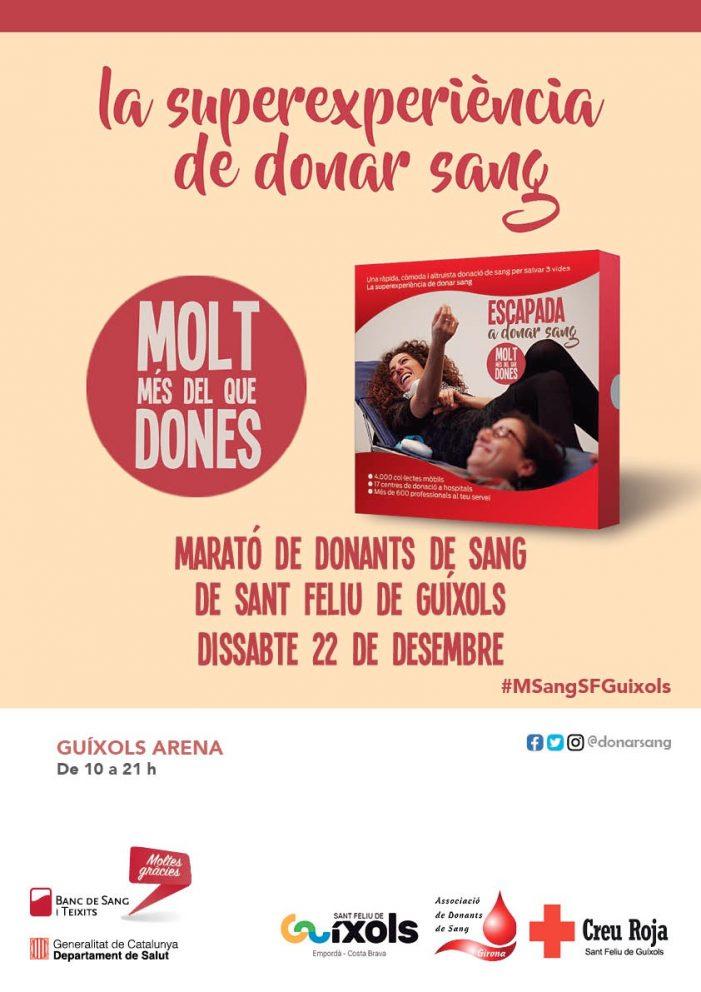 Marató de donants de sang de Sant Feliu de Guíxols