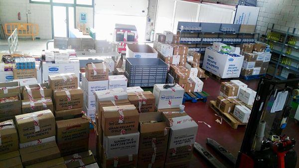 Castell-Platja d'Aro va recollir 10.462 quilos d'aliments i solidaritat en el Gran Recapte dels dies 30 de novembre i 1 de desembre 11 Desembre, 2018Publicat a Castell-Platja d'Aro