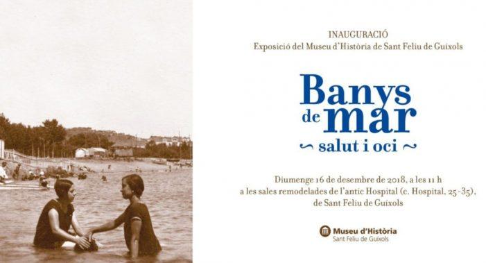 """Nova exposició """"Banys de Mar: Salut i oci"""""""