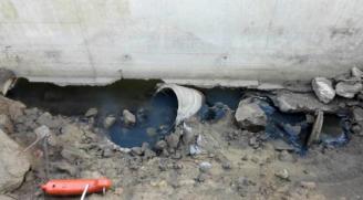 Denuncia un abocament d'aigües negres al riu Ridaura de Platja d'Aro