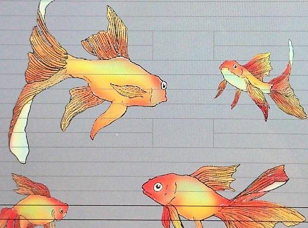 Un treball d'art urbà portarà peixos al carrer Penitència