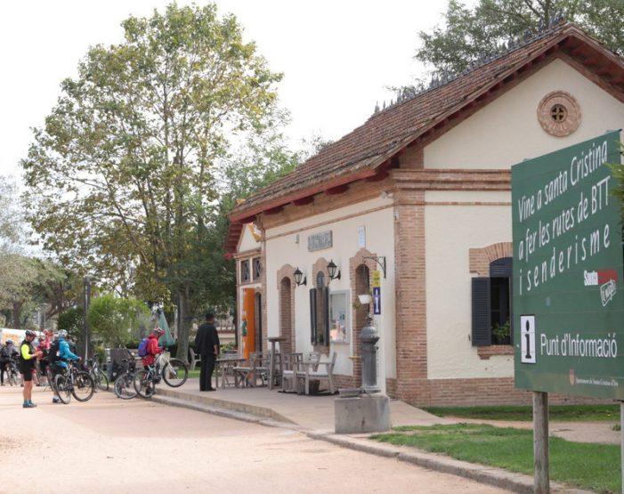 Pla per a l'oficina de turisme de Santa Cristina