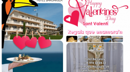 Regals que enamora'n Sant Valentí a l'hotel Barcarola
