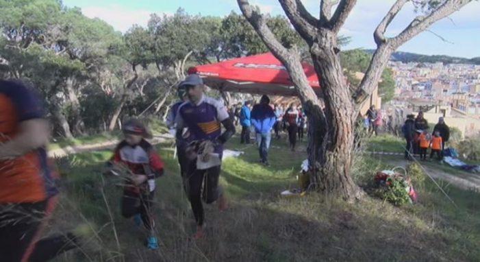 Quim Vich i Laia Gil guanyen la cursa d'orientació del Massís de Cadiretes