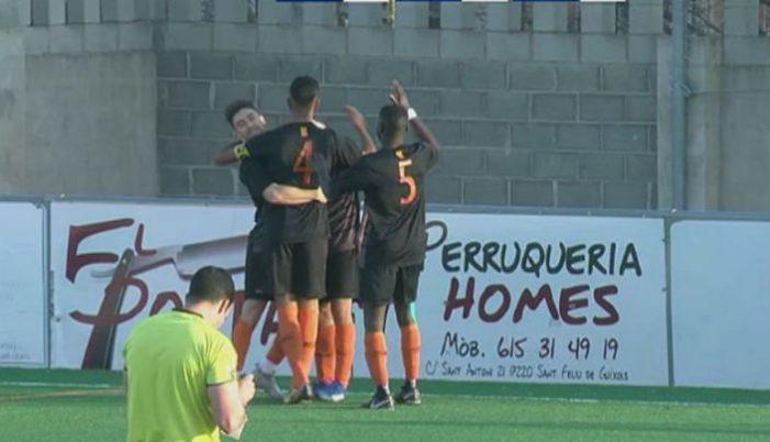 El Guíxols s'emporta el derbi ganxó de Vilartagues (1-2)