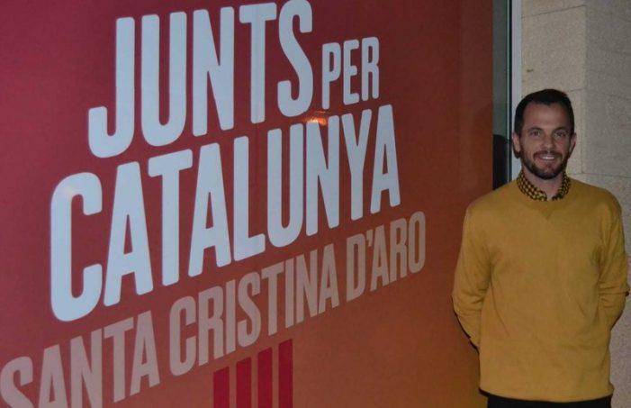 Jaume Quintana relleva l'històric Llensa a JuntsxCat de Santa Cristina