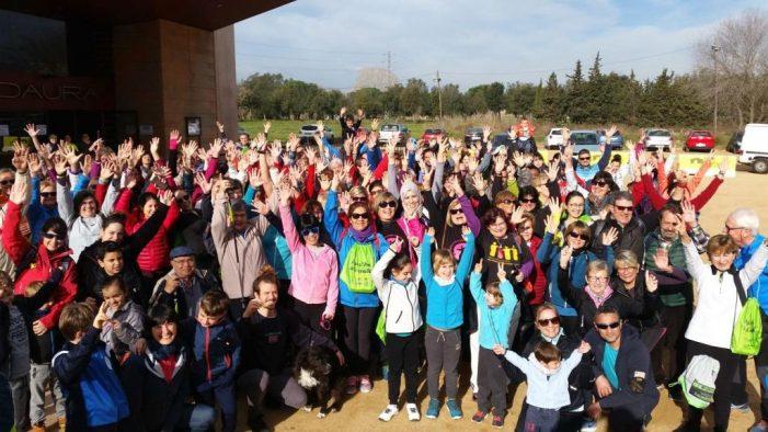 La II Caminada per la Igualtat de la Vall d'Aro, el dissabte 9 de març