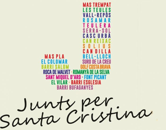 Junts per Santa Cristina es retira