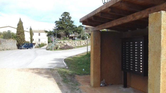 Bústies noves a les urbanitzacions de Santa Cristina d'Aro