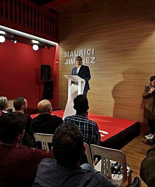 Maurici Jiménez presenta la candidatura del PSC a Platja d'Aro