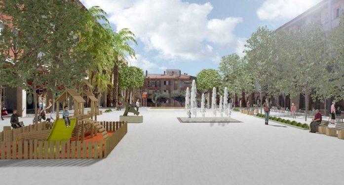 Els plans de JxCat per a la plaça Salvador Espriu