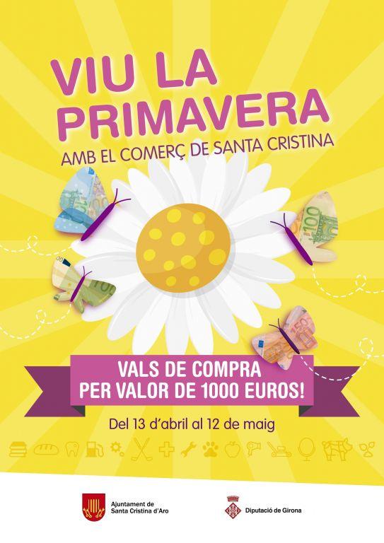 VIU LA PRIMAVERA AMB EL COMERÇ DE SANTA CRISTINA