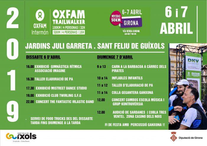 Oxfam Traiwalker Girona 2019 a Sant Feliu de Guíxols