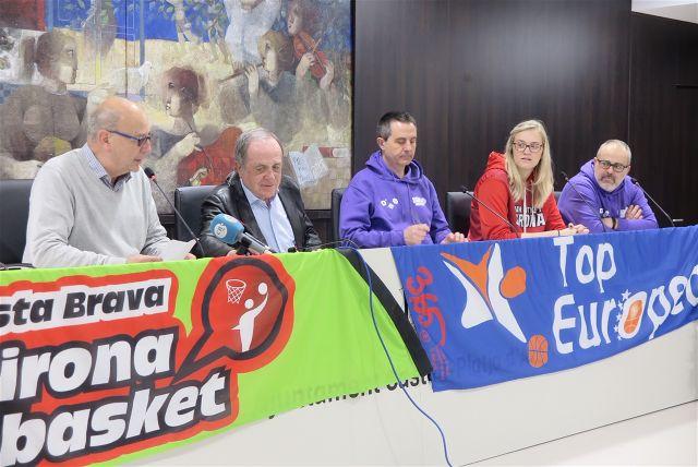 Platja d'Aro acollirà la segona edició del torneig Top European Sub16 de bàsquet amb la participació de 4 clubs europeus, una selecció nacional i una High School americana