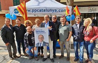 Santamaría parla de TV3 a Sant Feliu de Guíxols