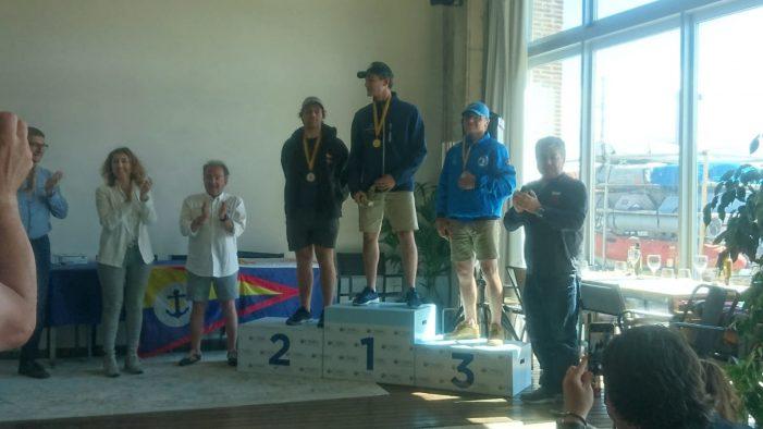 Francesc Martínez es proclama campió del Campionat de Catalunya de Làser Radial celebrat al Club Nàutic Sant Feliu