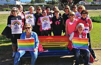 Santa Cristina fa un acte contra l'homofòbia