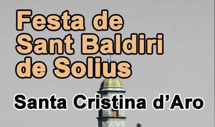 Solius celebra aquest diumenge la seva festa major, dedicada a Sant Baldiri