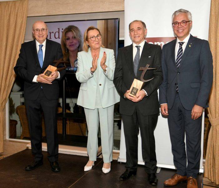 Thyssen, Cals i Gascons reben els premis T de la Fundació Jordi Comas