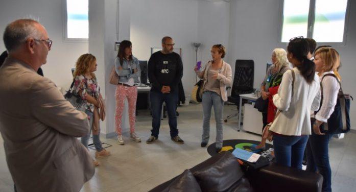 Visita a l'espai coworking del carrer de Sant Adolf