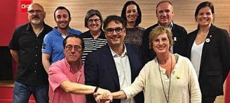 PSC, ERC i comuns prenen l'alcaldia a l'històric Joan Giraut a Platja d'Aro