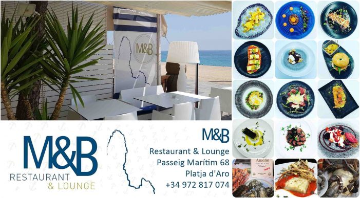 Restaurant Lounge M&B, la gastronomia a la vora del mar