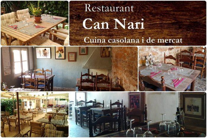Can Nari, un restaurant acollidor i amb encant